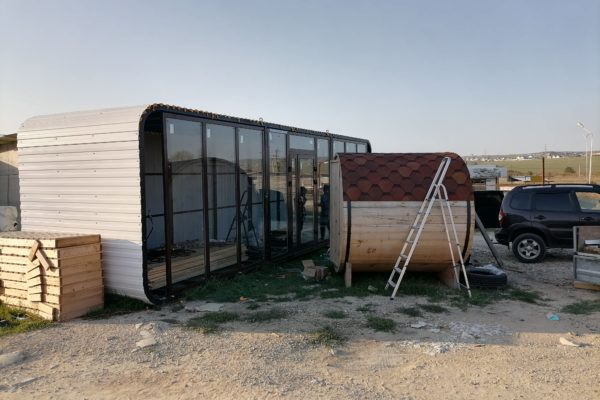 Бани и павильоны под заказ Анапа