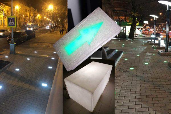 Световые фигуры для улиц