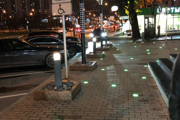 Светильники тротуарные в Москве