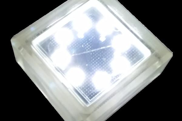 Тротуарный светильник на солнечной батарее